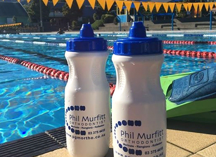 Phil Murfitt Orthodontist water bottles